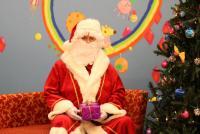 Dovanėlių įteikimas su Kalėdų seniu